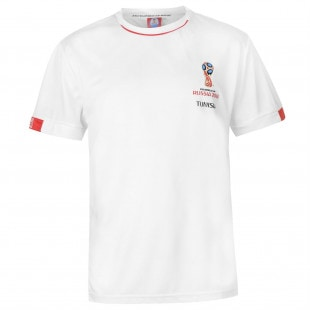 FIFA World Cup Russia 2018 Tunisia Poly T Shirt Mens