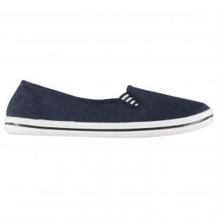 Slazenger Ladies Canvas Slip On Shoes