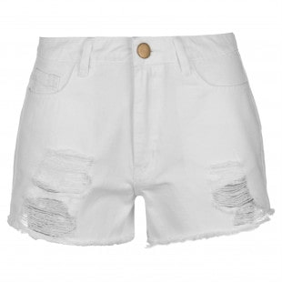 Golddigga Ripped Shorts Ladies