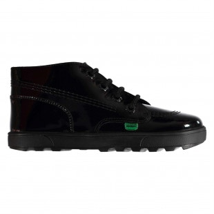 Kickers Disley Hi Patent Boots Child Girls