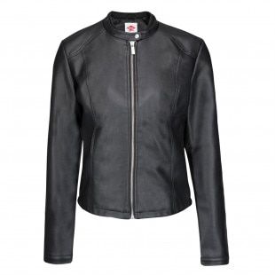 Lee Cooper Classic PU Jacket Ladies