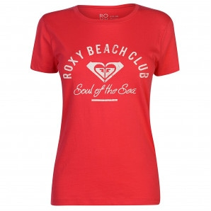 Roxy Beach Club T Shirt Ladies