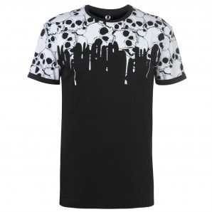 Fearless Illustration Fearless Printed T Shirt Mens