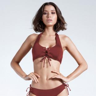 Firetrap Blackseal Lace Front Bikini Top