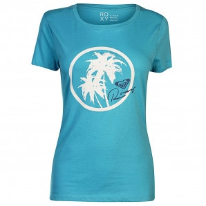 Roxy Itty Be Around The Beach T Shirt Ladies