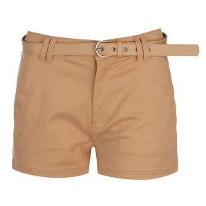 Kangol Belted Chino Shorts Ladies