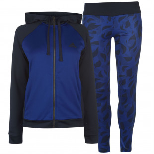 Adidas Hoody And Tights Tracksuit Ladies