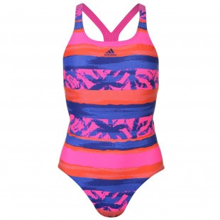 Adidas Fit All Over Print Swimsuit Ladies