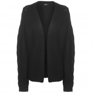 Golddigga Cable Knit Cardigan Ladies