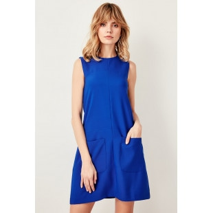 Trendyol Saks Basic Dress