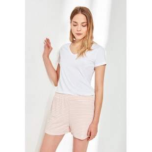 Trendyol Powdered Knitted Shorts