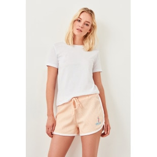 Trendyol Pink Basic Knitted Shorts