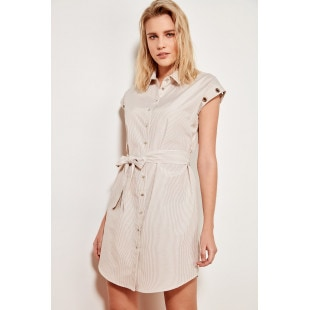 Trendyol Taku Eyelet Detailed Dress