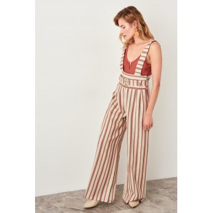 Trendyol The Red Binding Detailed Jumpsuit
