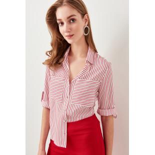 Trendyol We Break The Striped Shirt