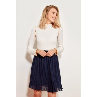 Trendyol In digo Pleated E Only