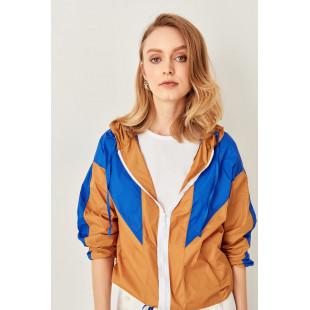 Trendyol Camel Color Block Jacket