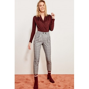 Trendyol Anthracite Basic Pants