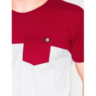 Ombre Clothing Men's plain t-shirt S1014