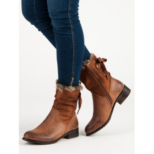 SDS CAMELOWE BOOTS WITH BOW