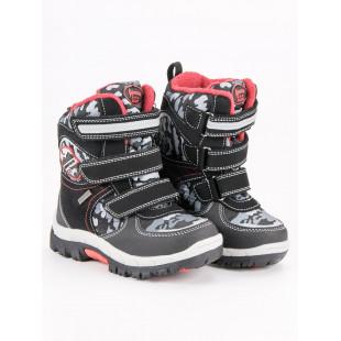 AMERICAN CLUB BLACK SNOW BOOTS AMERICAN