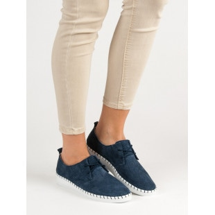 FILIPPO KNITTED LEATHER SHOES
