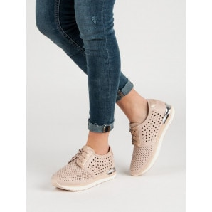 ACLYS KNITTED PINK SHOES