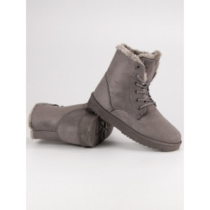 FOREVER FOLIE WARM SUEDE BOOTS