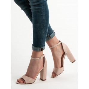 IDEAL SHOES COMFORTABLE SANDALS HIGH HEELS