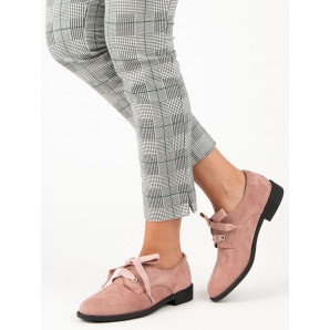 POWDERED LACE-UP BROGUES VICES