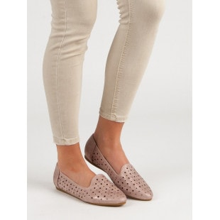 KYLIE KNITTED BALLERINA SHOES MADE