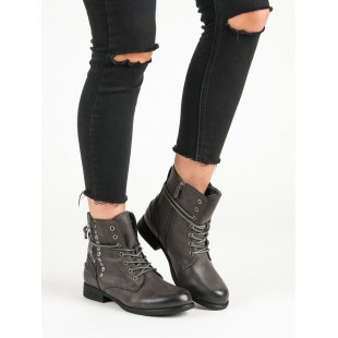 KAYLA THE GRAY ROCK ANKLE BOOTS