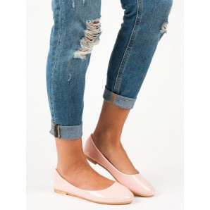 TOP SHOES LACQUERED BALLERINA