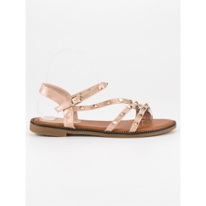 SDS FLAT SANDAL WITH STUDS