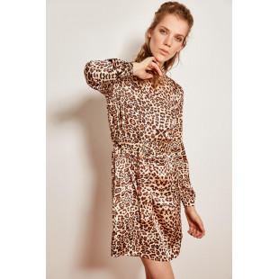 Trendyol Multicolored Leopard Print Dress