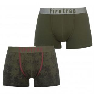 Firetrap 2 Pack Boxers