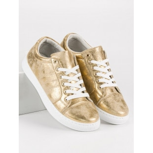 GOLD BOUND SNEAKERS