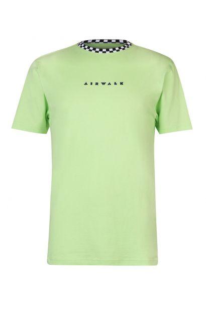 Airwalk Embroidery Logo T Shirt Mens