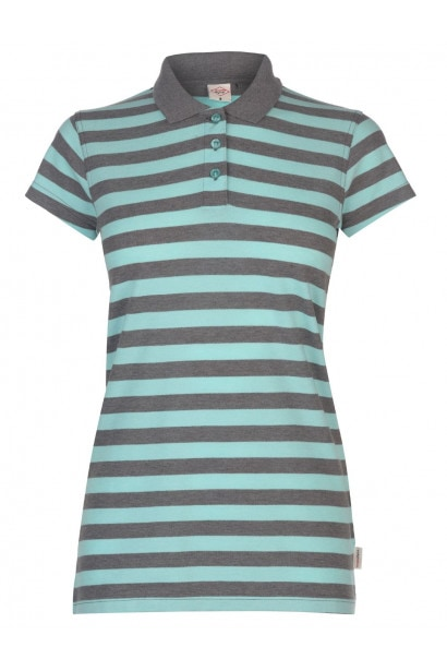 202f7f9d44 Lee Cooper Thin Stripe Polo Shirt Ladies