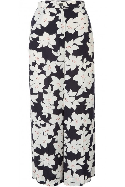 Emme Decibel printed wide leg trousers