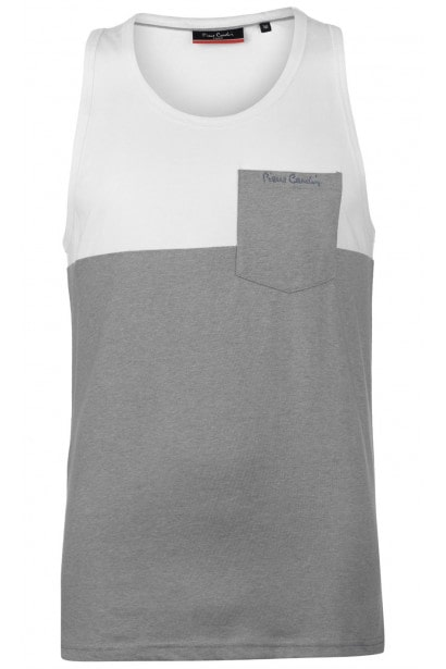Pierre Cardin Cut and Sew Marl Vest Mens