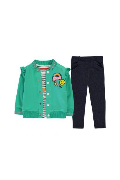 Crafted Essentials 3 Piece Fleece Set Girls