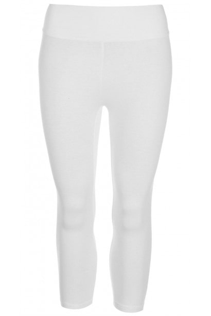Miso Three Quarter High Waisted Leggings Ladies
