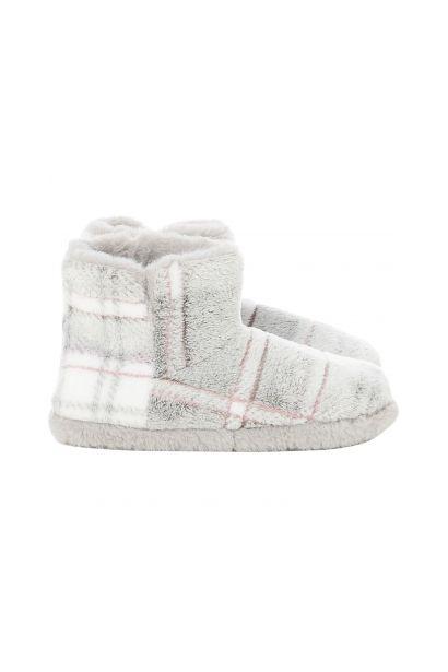 5ea8445210 Maison De Nimes Supersoft check slipper boot