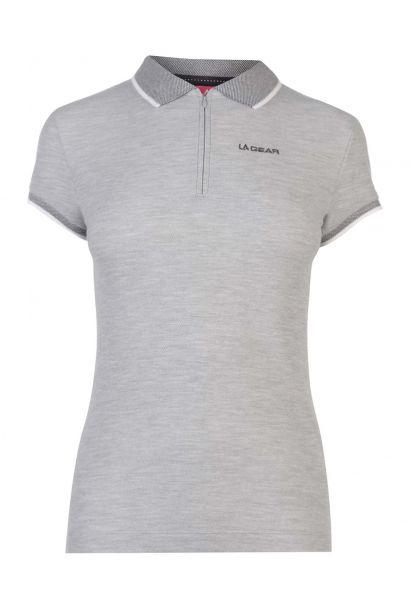 35e57635a8 LA Gear Tipped Polo Shirt Ladies