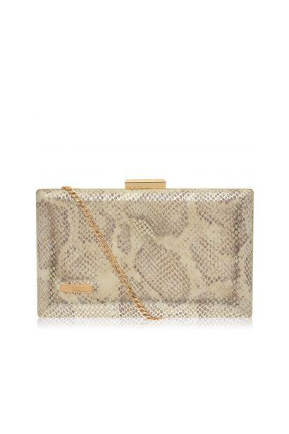 Dune Snake Clutch Bag