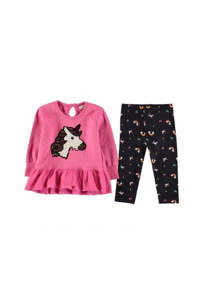 Crafted Essentials 2 Piece Sweater Dress Set Baby Girls