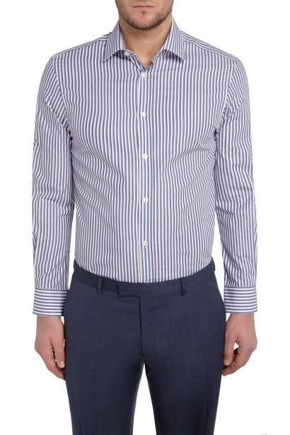 Howick Tailored Briar Stripe Shirt