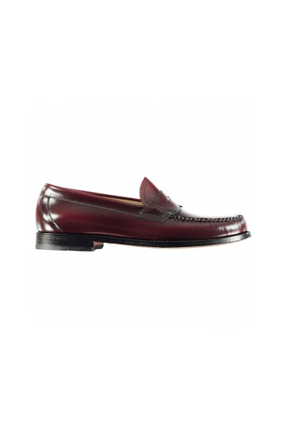 Bass Weejuns Logan Moc Leather Loafer