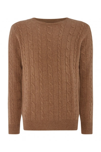 Everlast Contrast Lined Knit Sweater Mens